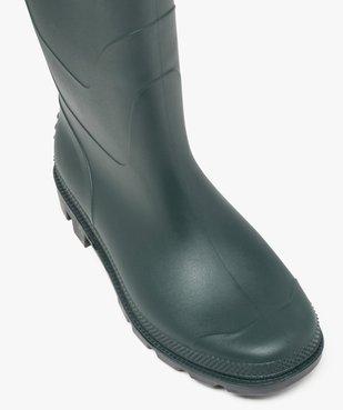 Bottes de pluie à semelle crantée vue5 - GEMO (EQUIPT) - GEMO