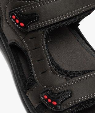 Sandales sport garçon à brides scratch vue6 - SANS MARQUE - GEMO