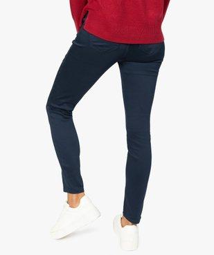 Pantalon femme coupe slim - Longueur L26 vue3 - GEMO(FEMME PAP) - GEMO