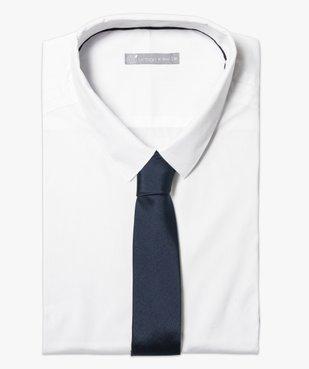 Cravate unie pour homme vue1 - GEMO (HOMME) - GEMO