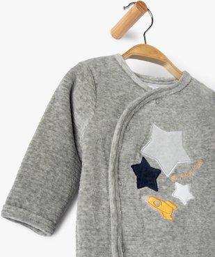 Pyjama bébé garçon avec motifs étoiles et fusée vue3 - GEMO(BB COUCHE) - GEMO