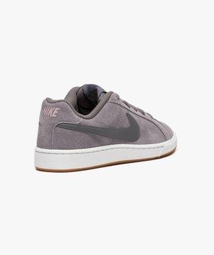 Baskets basses Nike Court Royale Suede vue4 - NIKE - GEMO