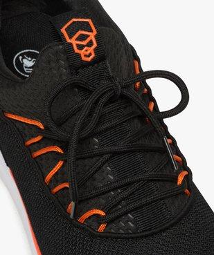 Baskets homme façon socquettes en mesh à lacets vue6 - GEMO (SPORTSWR) - GEMO