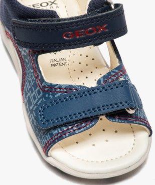 Sandales bébé garçon à scratch, intérieur cuir et - Geox vue6 - GEOX - GEMO