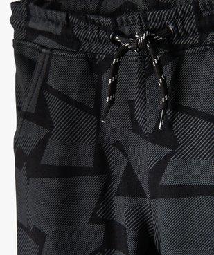 Pantalon de jogging garçon à motifs graphiques vue2 - GEMO (ENFANT) - GEMO