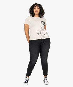 Tee-shirt femme à manches courtes imprimé - Disney vue5 - DISNEY DTR - Nikesneakers