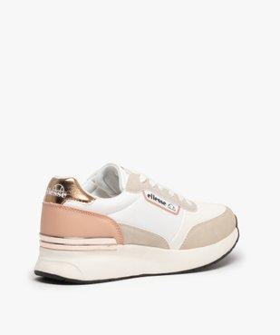 Baskets femme multi-matières à lacets - Ellesse vue4 - ELLESSE - Nikesneakers