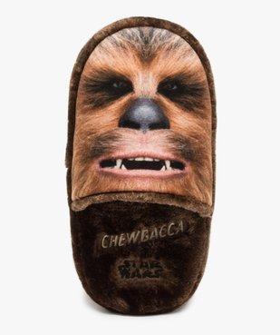 Chaussons homme motif Chewbacca - Star Wars vue6 - STAR WARS - GEMO