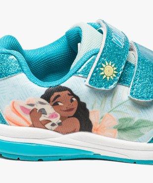 Baskets fille avec motif Vaiana et semelle lumineuse - Disney vue6 - VAIANA - GEMO