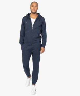 Pantalon de jogging homme contenant du coton bio vue5 - GEMO C4G HOMME - GEMO