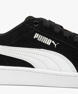 Baskets femme bicolores avec dessus en cuir velours – Puma vue6 - PUMA - Nikesneakers