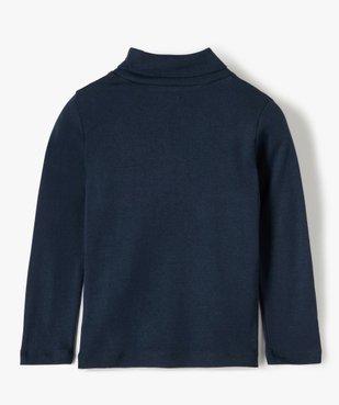 Tee-shirt garçon imprimé à manches longues et col montant vue4 - Nikesneakers (ENFANT) - Nikesneakers