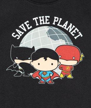 Tee-shirt bébé garçon à manches courtes - Justice League imprimé super-héros vue2 - DC COMICS - GEMO