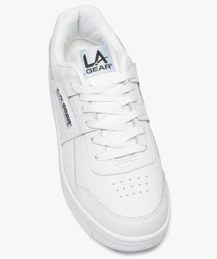 Tennis homme unies à lacets et semelle épaisse – LA Gear vue5 - L.A. GEAR - GEMO