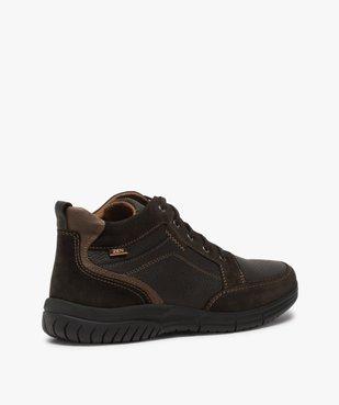 Low-boots homme confort avec nombreuses surpiqûres - Zen vue4 - GEMO (CONFORT) - GEMO