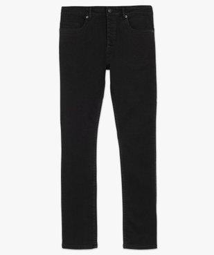 Jean homme straight en coton stretch vue4 - GEMO (HOMME) - GEMO