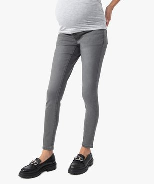 Jean de grossesse slim 4 poches avec bandeau jersey vue1 - Nikesneakers (MATER) - Nikesneakers