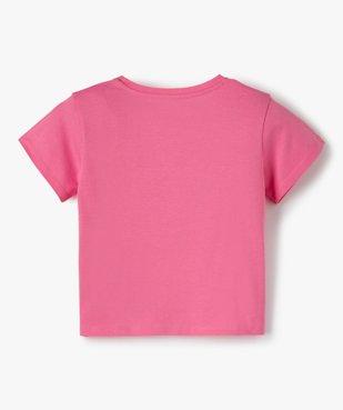 Tee-shirt fille avec motif en sequins brodés – Les Minions 2 vue3 - NBCUNIVERSAL - Nikesneakers