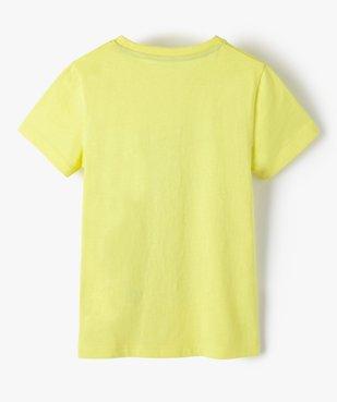 Tee-shirt garçon à manches courtes imprimé dinosaure vue4 - GEMO (ENFANT) - GEMO