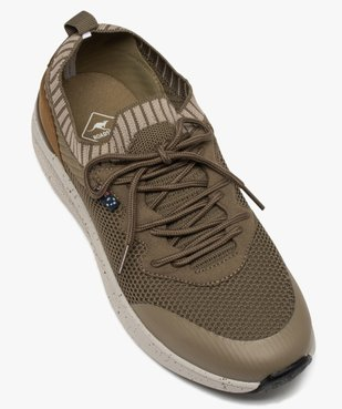 Baskets homme style chaussettes à lacets - Roadsign vue5 - ROADSIGN - GEMO