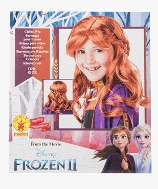 Perruque enfant Anna La Reine des Neiges - Disney vue1 - DISNEY - Nikesneakers
