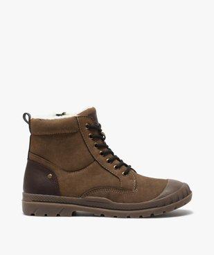 Boots garçon zippées à bout renforcé et col rembourré vue1 - Nikesneakers (ENFANT) - Nikesneakers