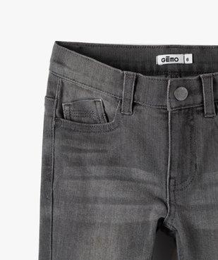 Jean garçon coupe Slim contenant du polyester recyclé vue2 - GEMO C4G GARCON - GEMO