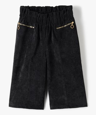 Pantalon fille ample en velours côtelé vue1 - Nikesneakers (ENFANT) - Nikesneakers