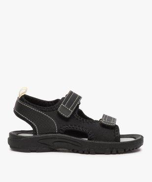 Sandales garçon multi-matières fermeture à scratch vue1 - Nikesneakers (ENFANT) - Nikesneakers