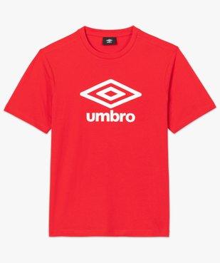 Tee-shirt homme à manches courtes avec inscription - Umbro vue4 - UMBRO - GEMO