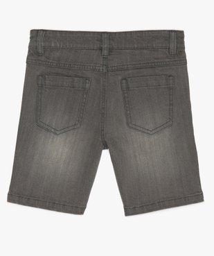 Bermuda garçon en jean coupe Regular vue2 - GEMO (ENFANT) - GEMO