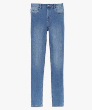 Jean femme coupe Slim taille haute – L30 vue4 - GEMO(FEMME PAP) - GEMO