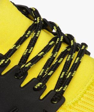 Baskets garçon extra légères à lacets bicolores  vue6 - GEMO (ENFANT) - GEMO