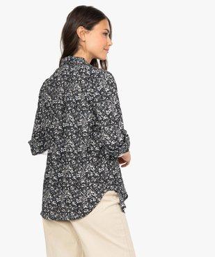 Chemise femme à motifs fleuris vue3 - GEMO(FEMME PAP) - GEMO