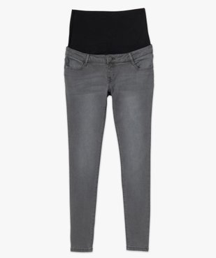 Jean de grossesse slim 4 poches avec bandeau jersey vue4 - Nikesneakers (MATER) - Nikesneakers