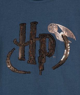Tee-shirt fille à manches longues avec motif sequins  – Harry Potter vue2 - HARRY POTTER - GEMO