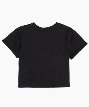Tee-shirt fille avec motif scintillant – Lulu Castagnette vue4 - LULUCASTAGNETTE - GEMO