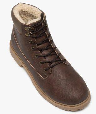 Boots homme à doublure chaude - Les Supaires vue5 - GEMO (CASUAL) - GEMO