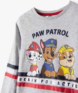 Tee-shirt garçon à manches longues imprimé - La Pat'Patrouille vue2 - PAT PATROUILLE - GEMO