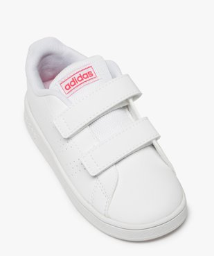 Baskets fille unies à scratch – Adidas vue5 - ADIDAS - Nikesneakers