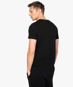 Tee-shirt homme manches courtes imprimé - Matrix vue3 - MATRIX - GEMO