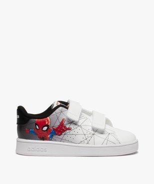 Baskets garçon à scratch – Adidas Advantage Spiderman vue1 - ADIDAS - GEMO