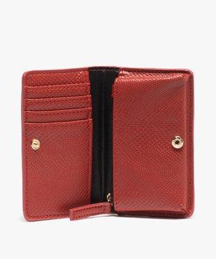 Porte-monnaie femme avec fermeture pression vue3 - GEMO (ACCESS) - GEMO