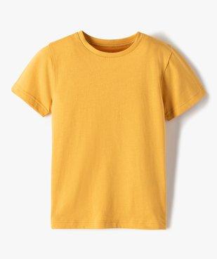 Tee-shirt garçon uni à manches courtes vue1 - Nikesneakers C4G GARCON - Nikesneakers