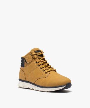 Boots garçon à col rembourré et lacets bicolores vue2 - Nikesneakers (ENFANT) - Nikesneakers