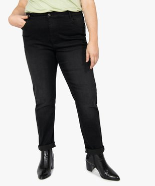 Jean femme slim 5 poches taille normale vue1 - GEMO (G TAILLE) - GEMO