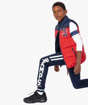 Pantalon de jogging garçon bicolore – Camps United vue1 - CAMPS UNITED - GEMO