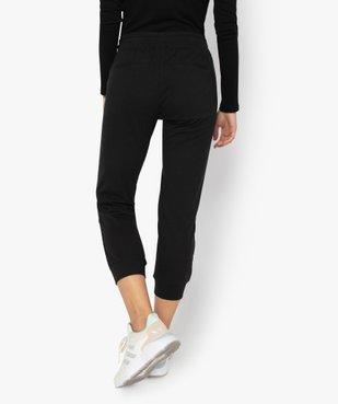 Pantalon de jogging femme longueur mollets vue3 - GEMO(FEMME PAP) - GEMO