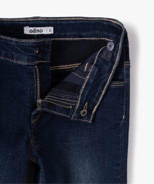 Jean fille coupe Slim taille+large en matière extensible vue2 - GEMO (ENFANT) - GEMO