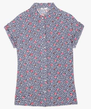 Chemise femme à manches courtes imprimée vue4 - GEMO(FEMME PAP) - GEMO